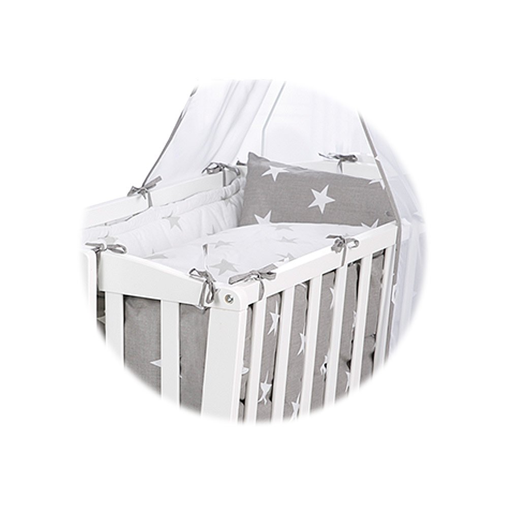 Babywiege Roba Roba Complete Cradle White Little Stars