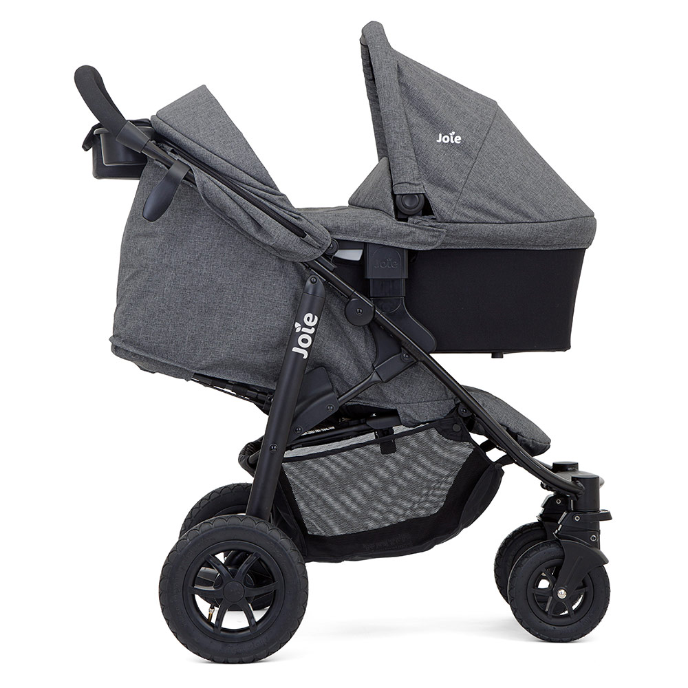 Kinderwagen Joie Joie 4 In 1 Kinderwagen Set Litetrax 4 Air Babywanne Babyschale Isofix I Base Regenschutz Adapter Chromium Kollektion 2019