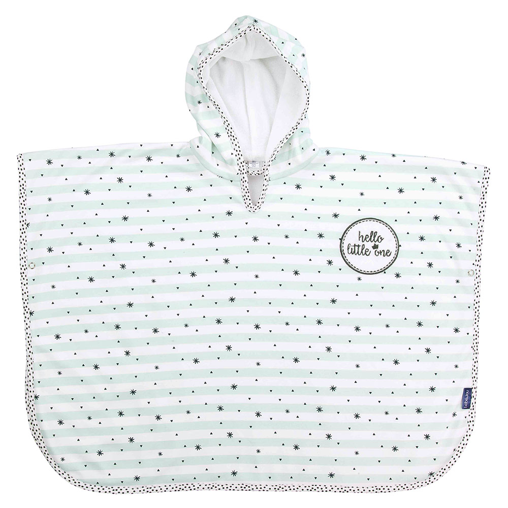 Baby Badeponcho Bébé Jou Bath Poncho Hello Little One Gr 86 92