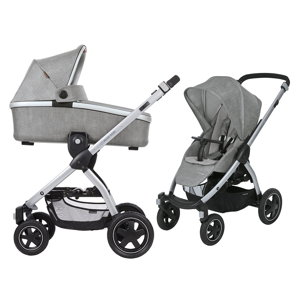 Maxi Cosi Stella Räder Maxi Cosi Baby Carriage Stella Incl Baby Tub Oria Nomad Grey Collection 2018