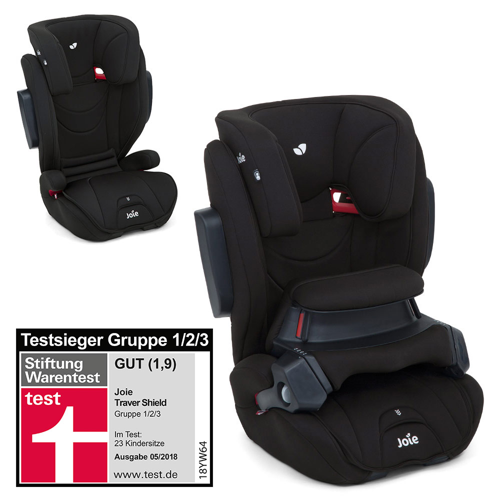 Kindersitz Joie Trillo Shield 9-36 Kg Joie Child Seat Traver Shield Coal Collection 2019