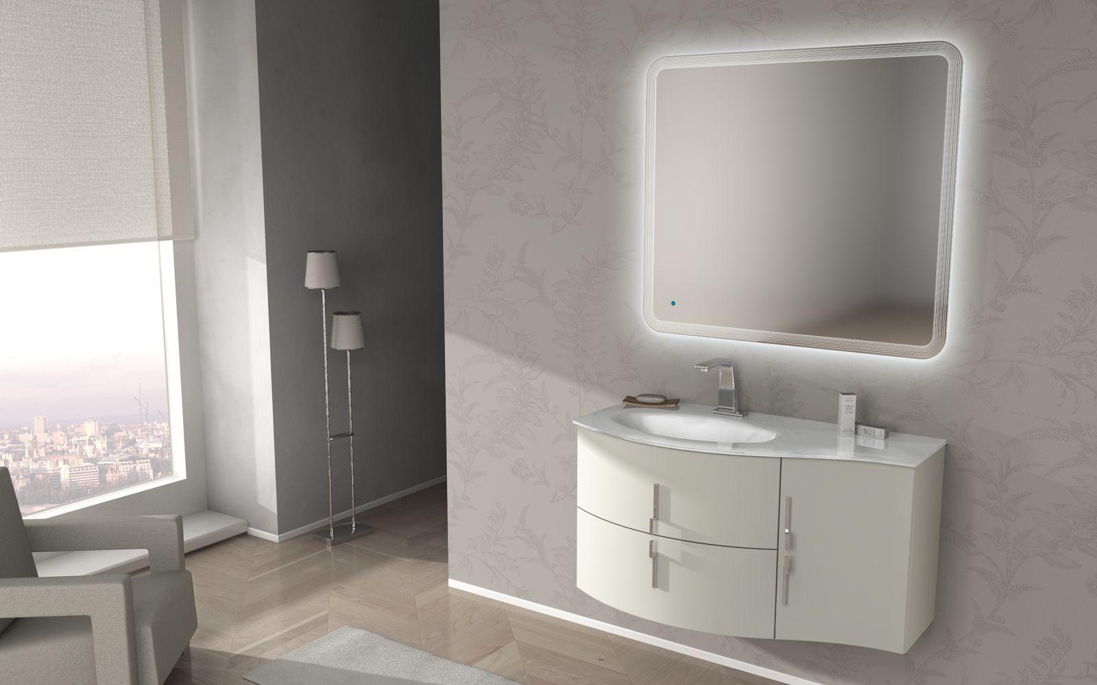 Armadietti Da Bagno Italia : Bagno italia mobile da bagno moderno saturno con