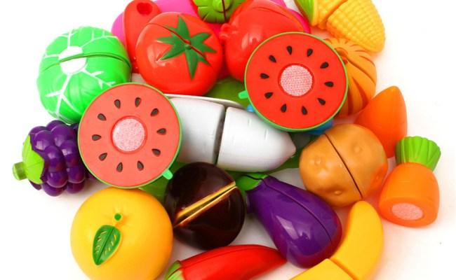 20pcs Kitchen Fruit Vegetables Food Toy Cutting Set Kids