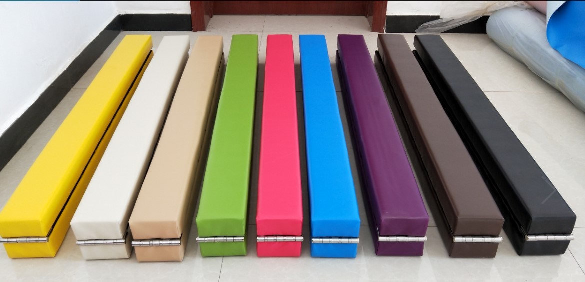 866x4x28inch Folding Balance Beam Cushion Train Mattress