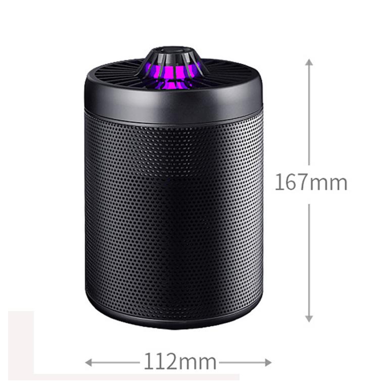 LOSKII LM707 USB POWERED SMART LED UV MOSQUITO KILLER TRAP