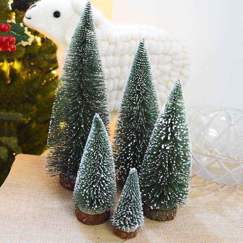 Holiday Decor - DIY Mini Christmas Tree Small Pine Tree Cedar - small decorative christmas trees