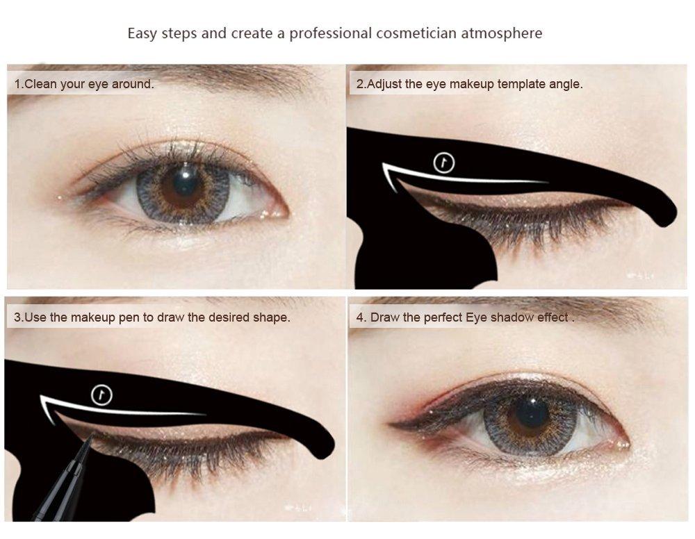 Eyeliner Template - Costumepartyrun