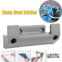 Grey Water Hose Reel Holder Wall Mount Garden Hose Storage ...