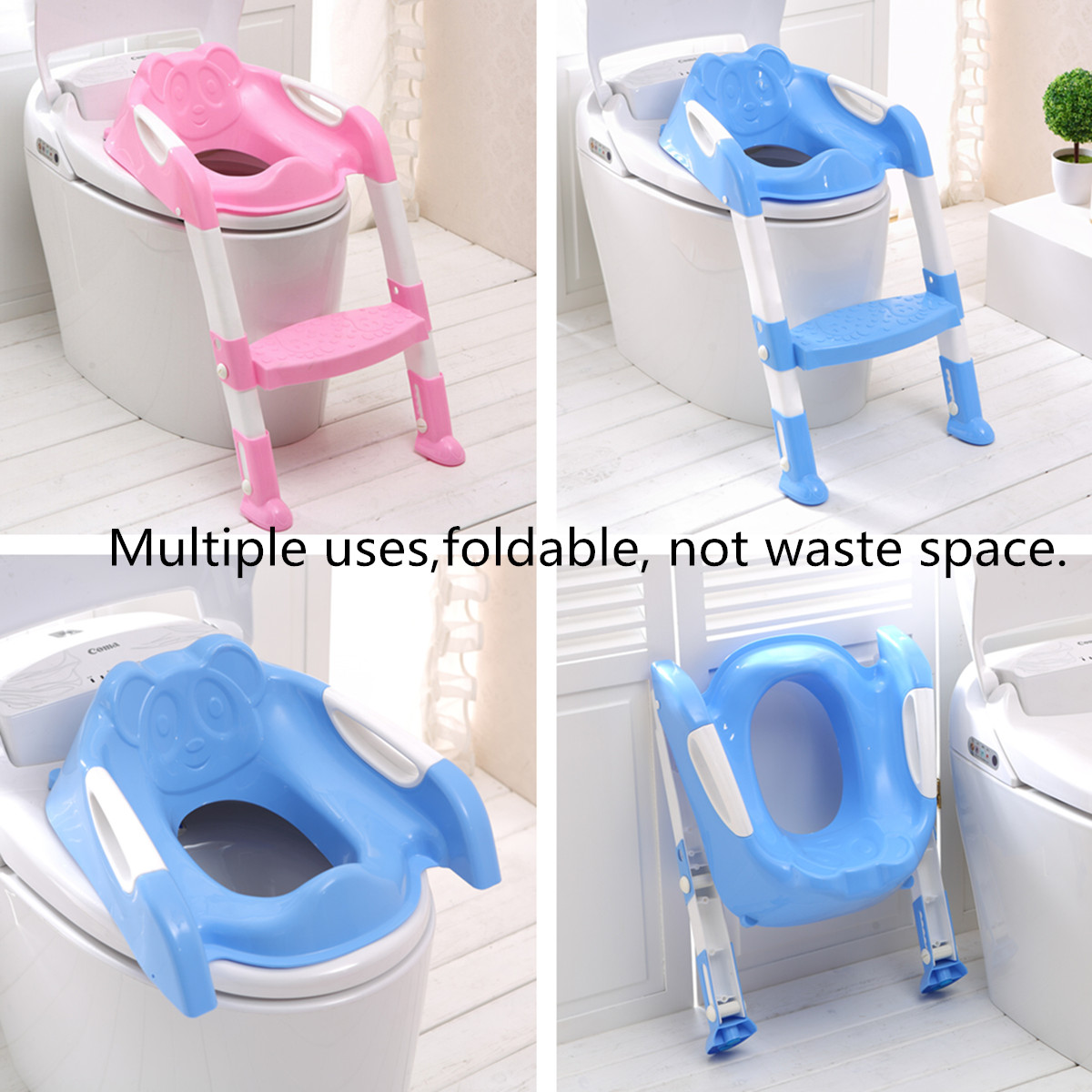 Baby Toddler Kids Potty Toilet Training Safety Adjustable Ladder Seat Chair Step Alexnld Com - Potty Toilet