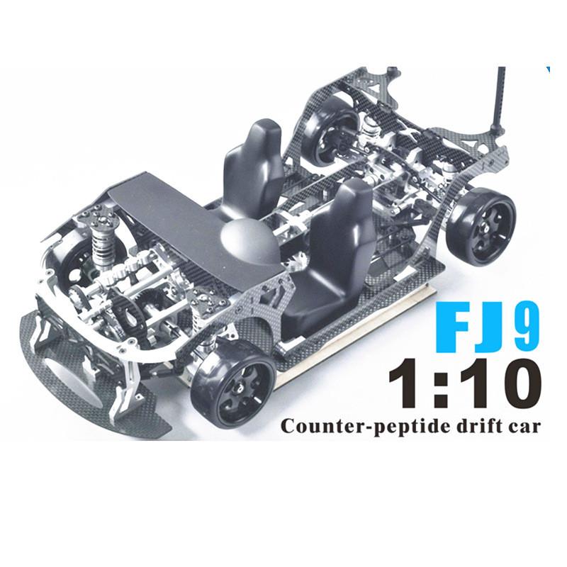 FIJON FJ9 1/10 Front Engine Design RC Car Parts Drift Frame - car description