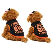 Dog Clothes Vest Pet Puppy Dog Cat Clothes T-Shirt Cute ...