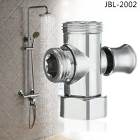 Zinc-plated Chrome Three Way T-adapter Shower Head ...