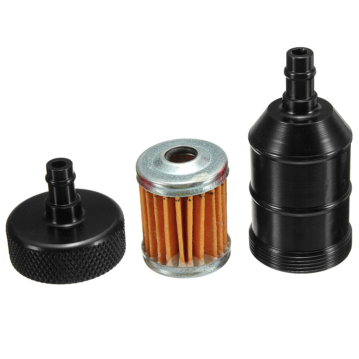 Gas Fuel Filter Auto Electrical Wiring Diagram Motorcycle Aluminum Reusable Universal Petrol