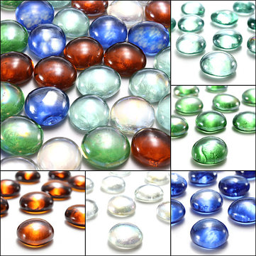 10 Glass Marbles Beads  Fish Tank Decor Landscaping 16mm   US$2