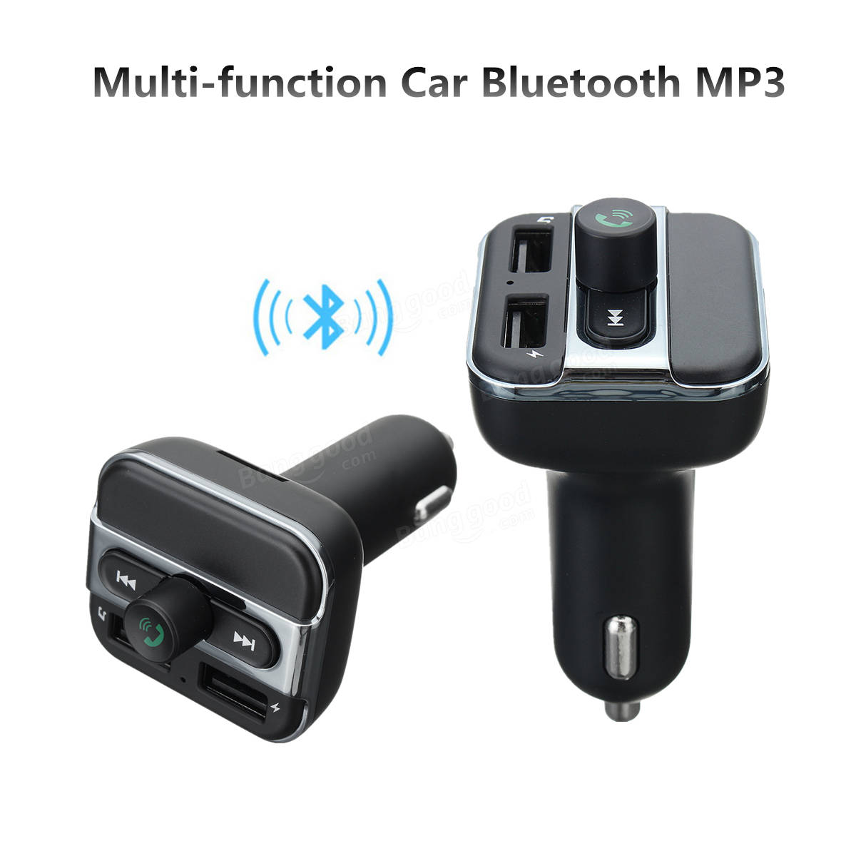 Kit Bluetooth Manos Libres Bluetooth Manos Libres Inalámbricas Fm Transimittervs