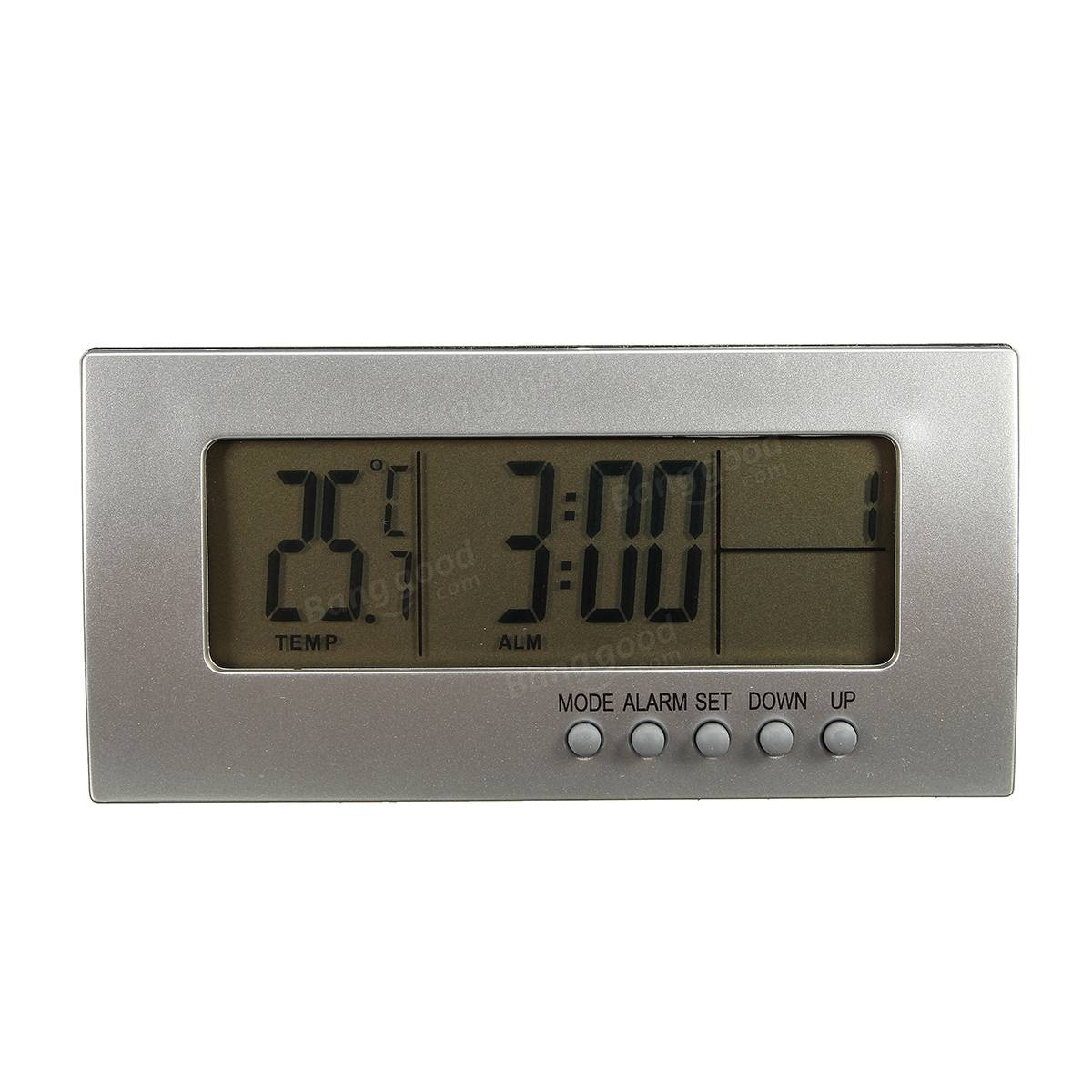 Digital Desk Clock Digital Desk Alarm Clock Snooze Date Time Calendar