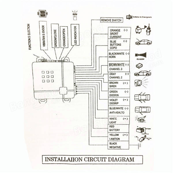 car alarm wiring diagram quality car alarm wiring diagram for sale