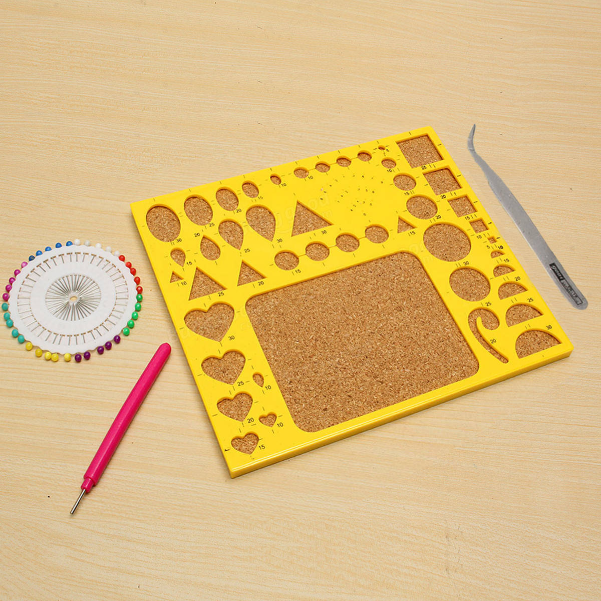 Creations Paper Quilling Kit Tweezer Board Needles Slotted