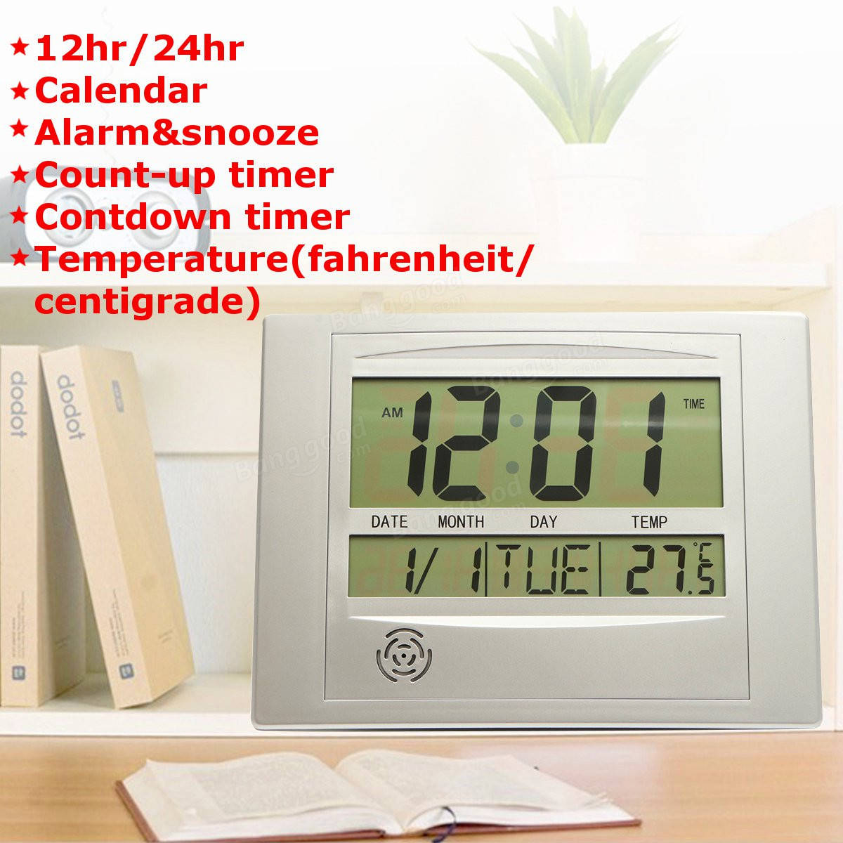 Digital Clock For Sale Digital Clock Hanging Wall Furnishing Office Calendar