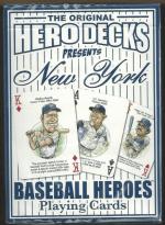 New York Yankees MLB Baseball Hero Decks Playing Cards Poker Sized