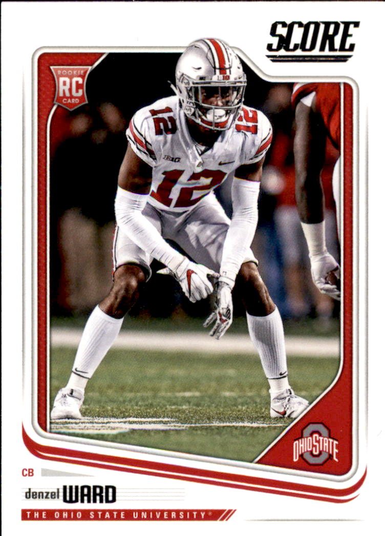 Ohio State Score Details About 2018 Score Football 332 Denzel Ward Rc Ohio State