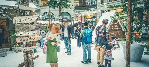 【台北】。信義區寶麗廣場下雪了?北歐小鎮白色聖誕節出現在台北 @市府捷運站