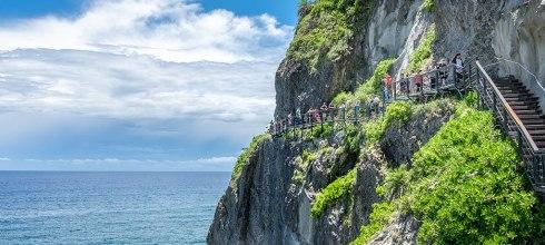 台灣海邊天空步道