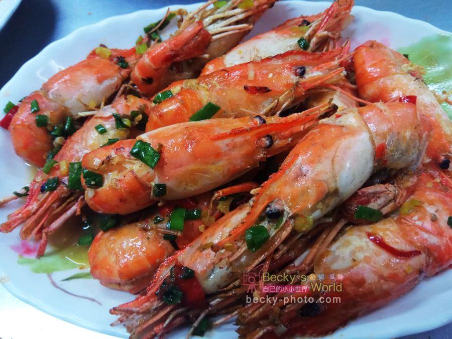 【新北】。台北蝦子料理430元起@中和景安路活蝦之家:胡椒蝦、檸檬蝦、蒜頭蝦、烤蝦