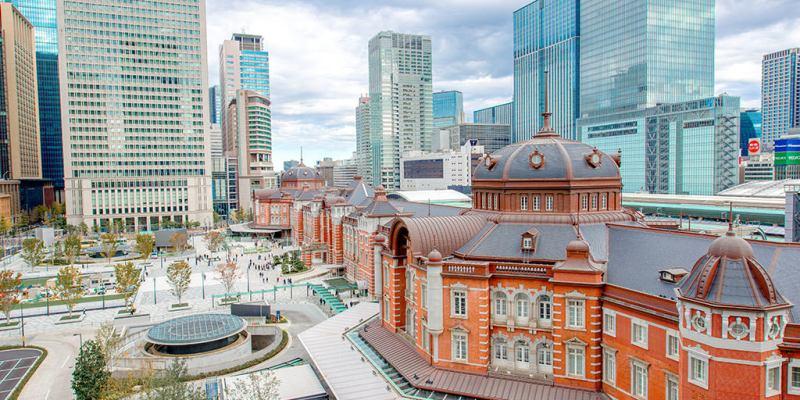 【東京】。仙台前往東京明治神宮外苑、皇居二重橋東京車站拍攝 @東京行程