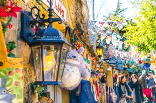 【九州】。由布院(湯布院)歐洲童話村有龍貓→金鱗湖湯之坪商店街