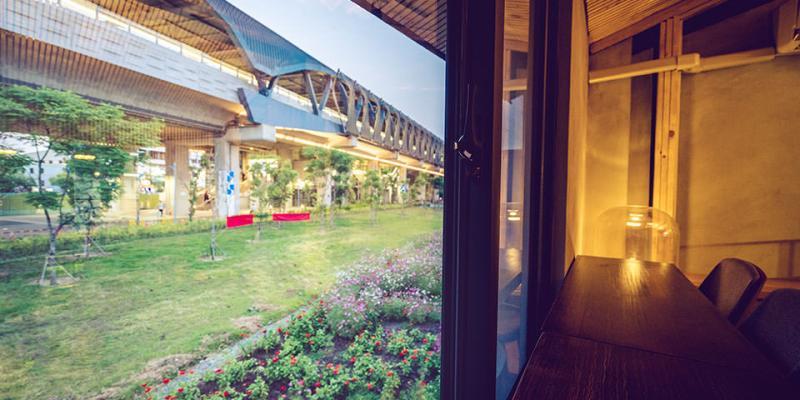 【台中】。潭子車站旁60年老房子咖啡店「良水食作潭子茶屋 」