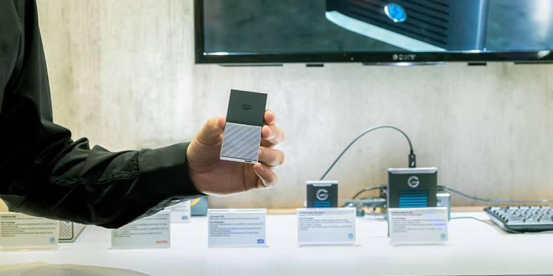 Western Digital SSD行動儲存裝置「創意工作流程儲存解決方案工作坊」
