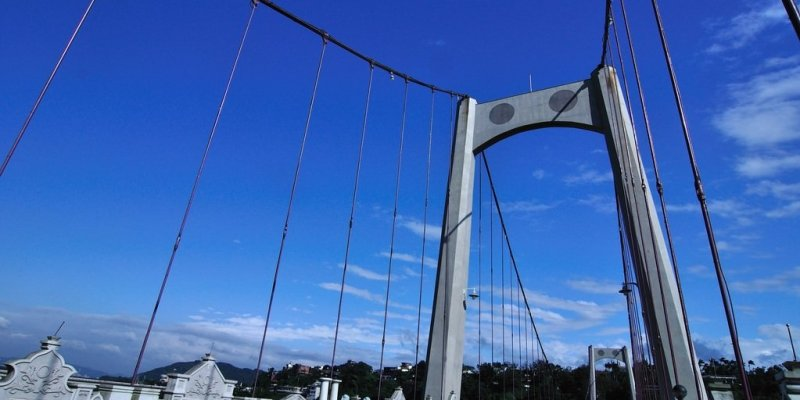 【桃園】。巴洛克大溪情人橋