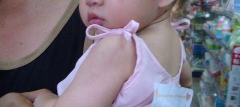 2009.7.11 妹妹的第一次爬行比賽