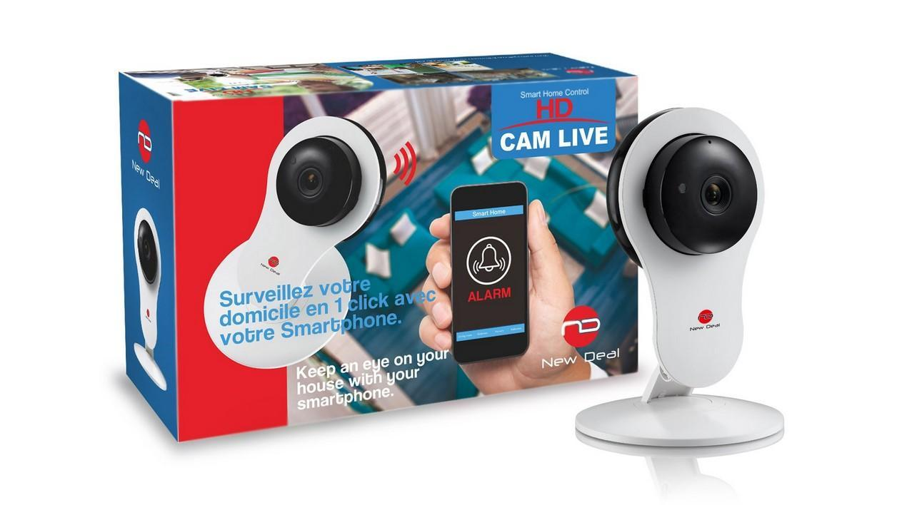 Camera Exterieur New Deal New Deal Hd Cam Live Le Test Complet 01net