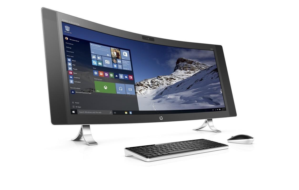 Pc Bureau Professionnel Hp Hp Envy Curved 34 A090nf Le Test Complet 01net