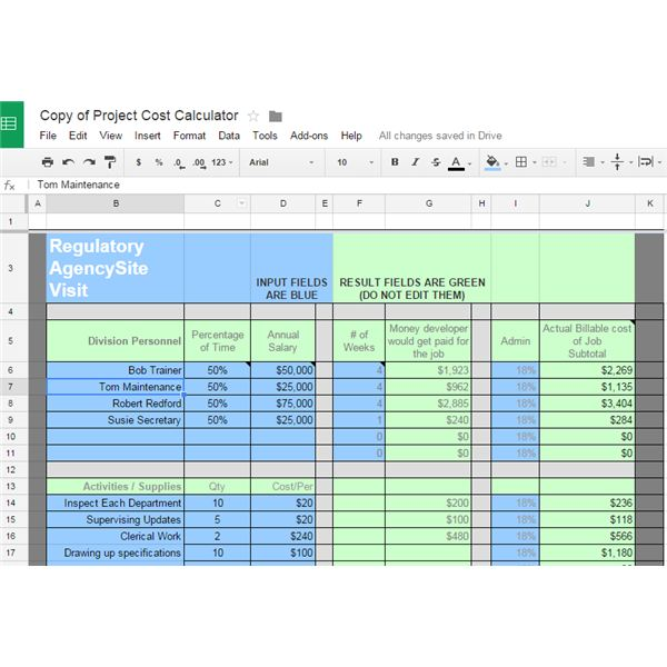 10 Great Google Docs Project Management Templates - sample budget timeline