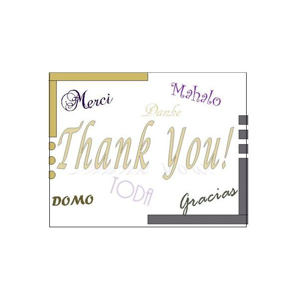 Thank You Postcards Free Templates for Microsoft Publisher