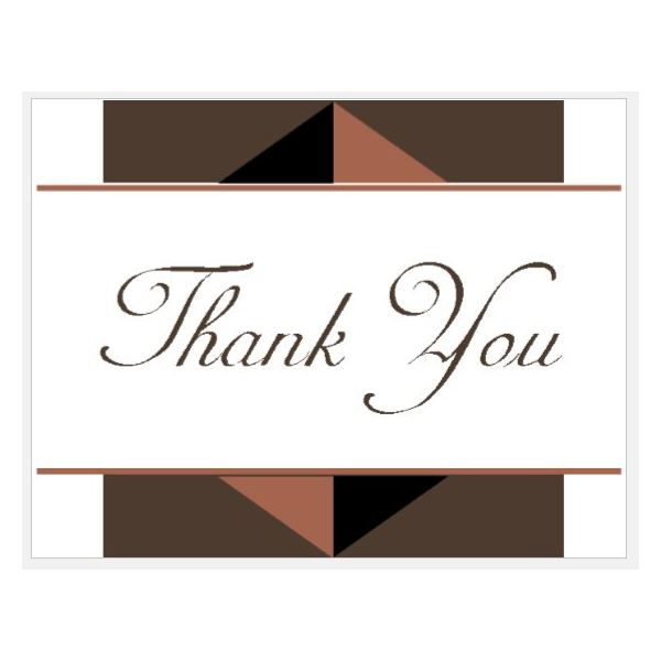 microsoft office thank you card templates - Eczasolinf