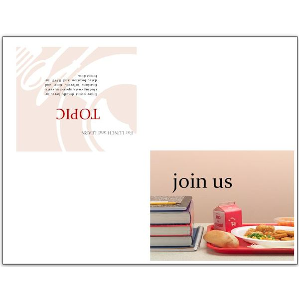 Free Business Lunch and Learn Invitation Forms Options for MS Word - lunch invitation templates