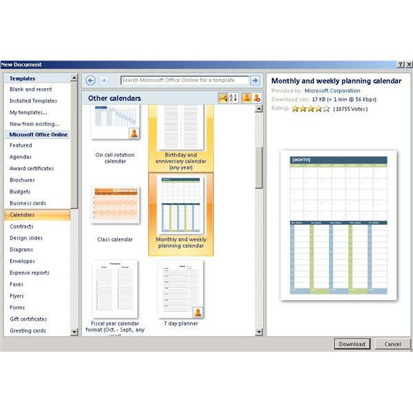 Learn How to Use Microsoft Word and Calendar Creator to Get Organized