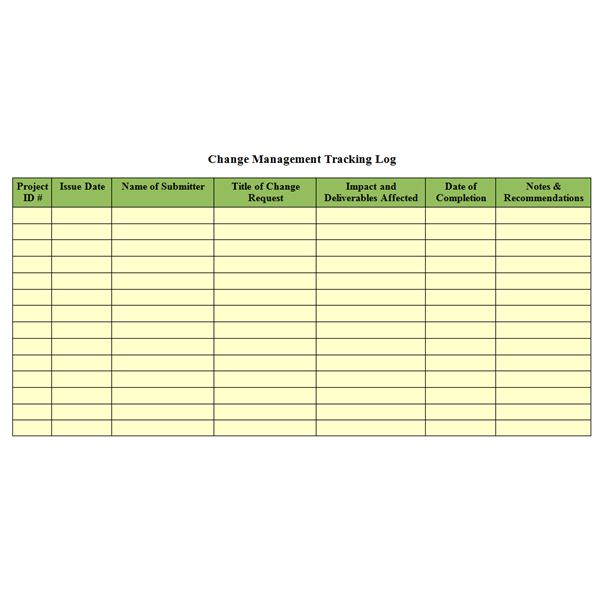 Bright Hub\u0027s Free Project Management Execution Templates You Can - change log template