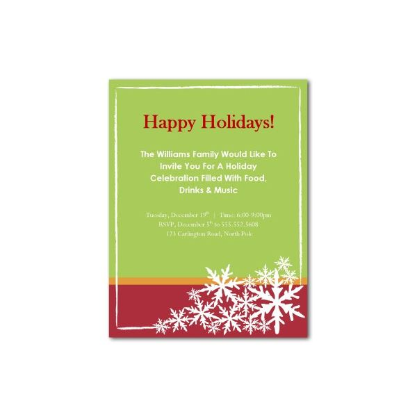 Top 10 Christmas Party Invitations Templates Designs for Parties of - Invitations Templates