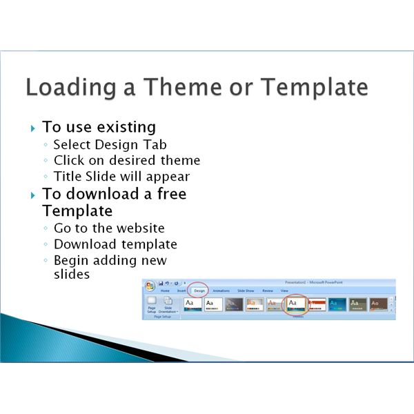 Tips on Using Microsoft PowerPoint Template Design
