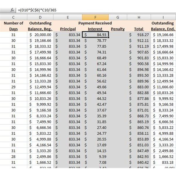 How to Make a Loan Amortization Table in Excel with Free Excel Download - Sample Schedules - Amortization Schedule Excel