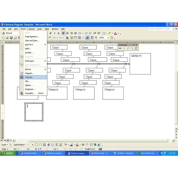 Download a Fishbone Diagram Word Template for Your Projects