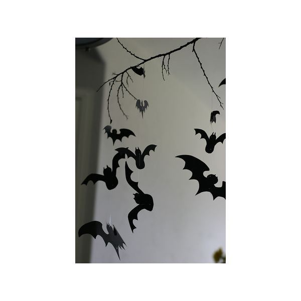 Halloween Bat Templates for Invitations, Party Flyers, Decorations - bat template