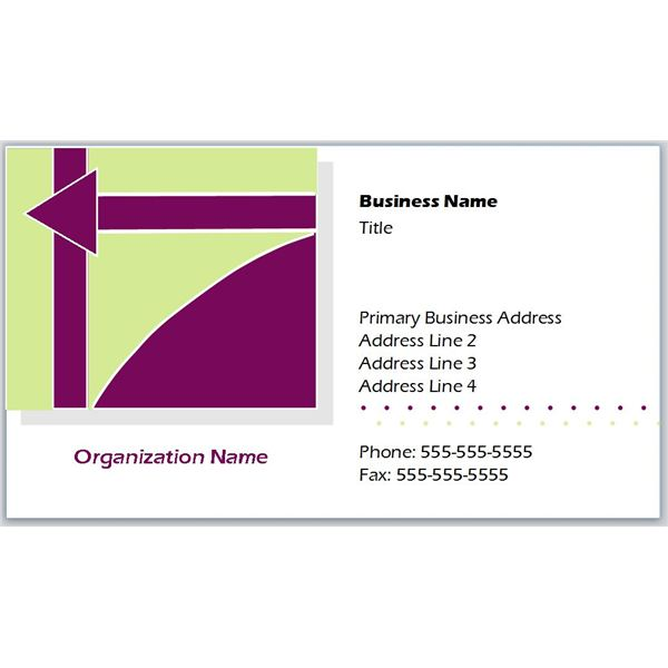 Like Business Cards With Geometric Logos? Check Out These Free Templates - name card example