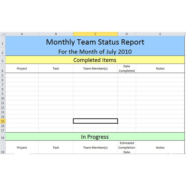 weekly project status report template excel - shefftunes - project status report excel