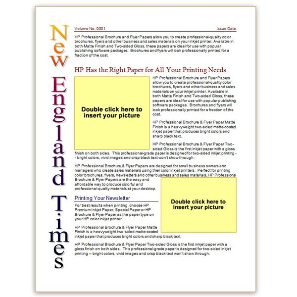 Where to Find Free Church Newsletters Templates for Microsoft Word - kindergarten newsletter template